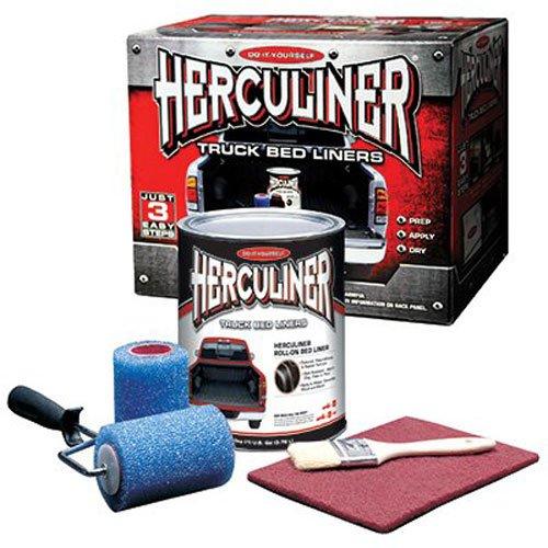 Best diy do it yourself spray in bedliners 2018 top 7 reviews herculiner hcl1b8 brush on bed liner kit solutioingenieria Images