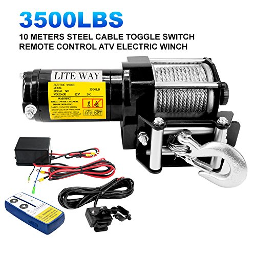 Best Rated Truck Winches 2019 - Top 12 Reviews and Buying Guide on