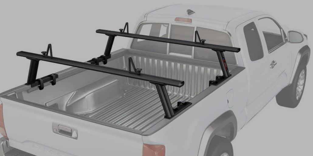 Guide Gear Universal Steel Truck Rack HeavyDuty Steel 800Lb Adjustable Cross Bar